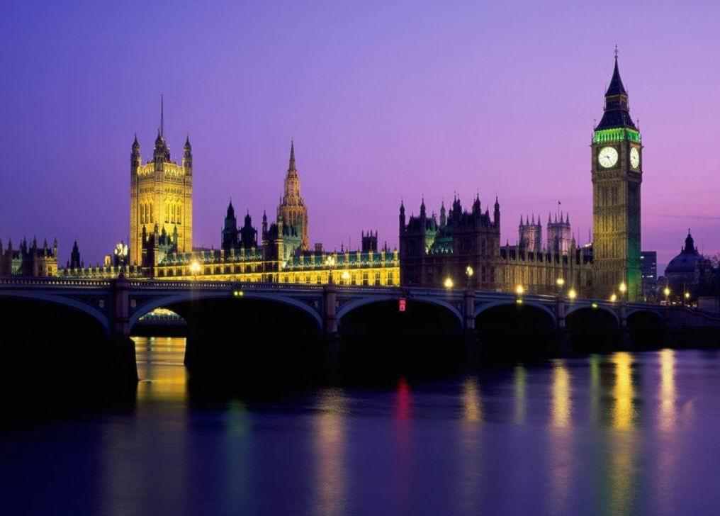 Когда то на месте лондона было всего