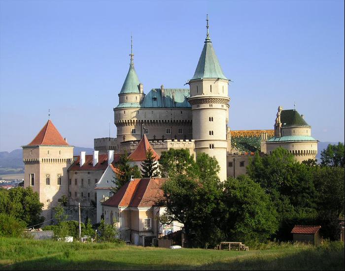 Бойнице старейший город словакии