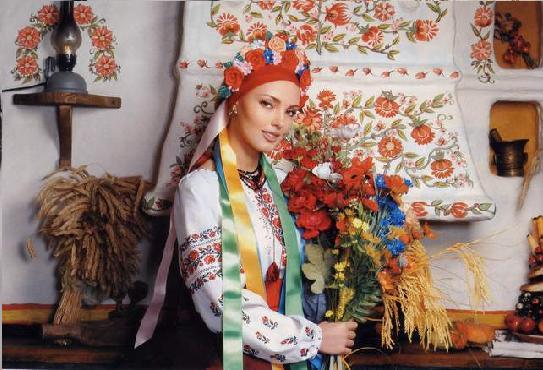 фото украинка в национальном костюме